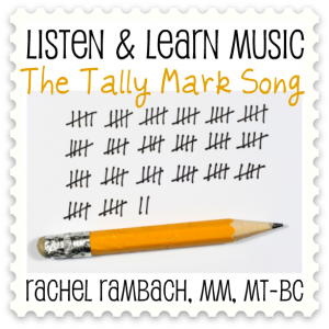 The Tally Mark Song Album Cover