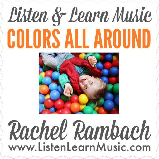 Colors All Around Album Cover
