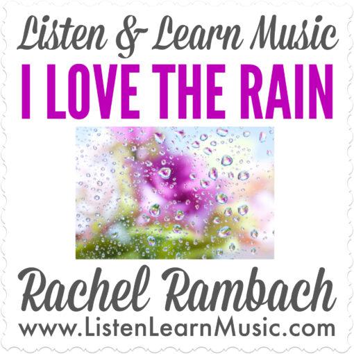 I Love the Rain Album Cover