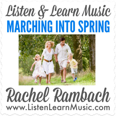 Marching Into Spring Album Cover