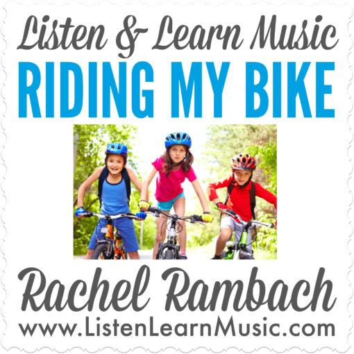 Riding My Bike Album Cover