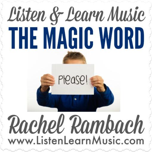 The Magic Word Album Cover