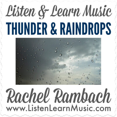 Thunder & Raindrops Album Cover