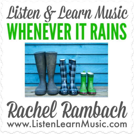 Whenever It Rains Album Cover