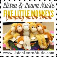 Five Little Monkeys Jumping on a Drum