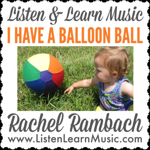I Have a Balloon Ball Album Cover