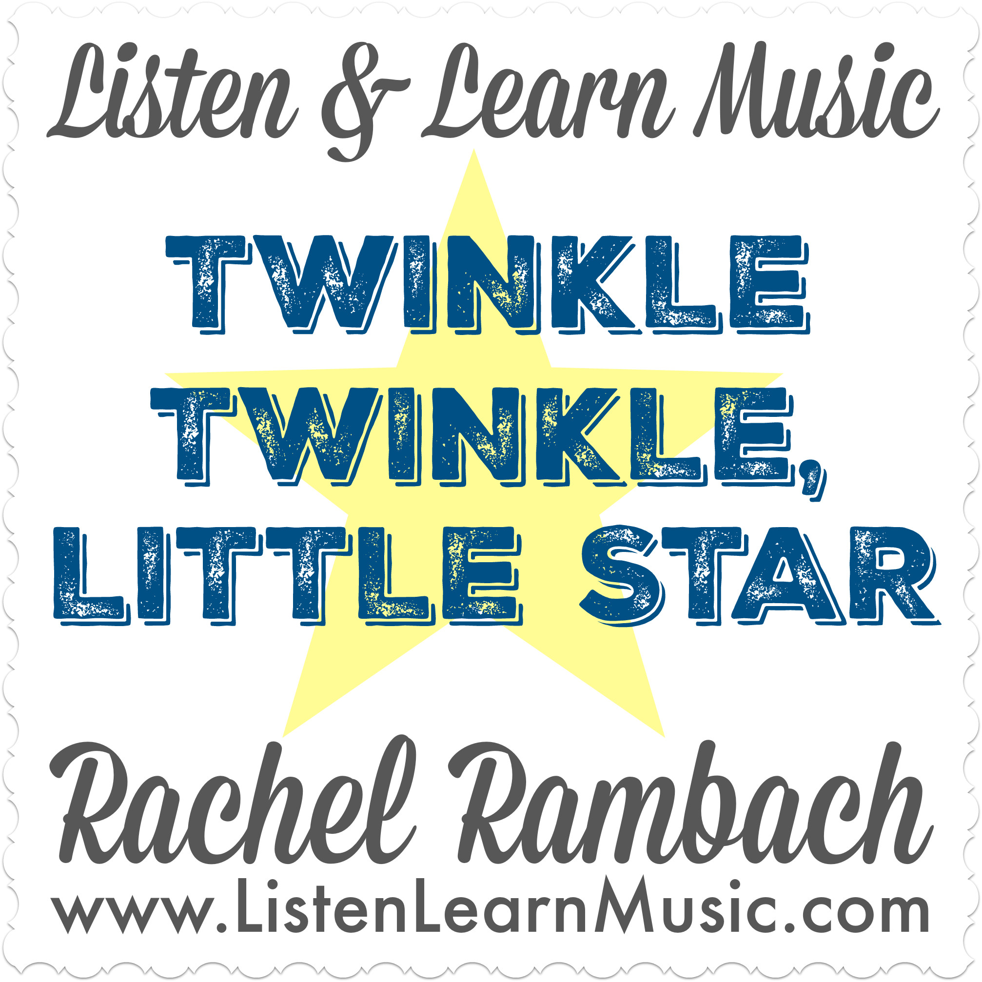 Twinkle Twinkle, Little Star | Listen & Learn Music