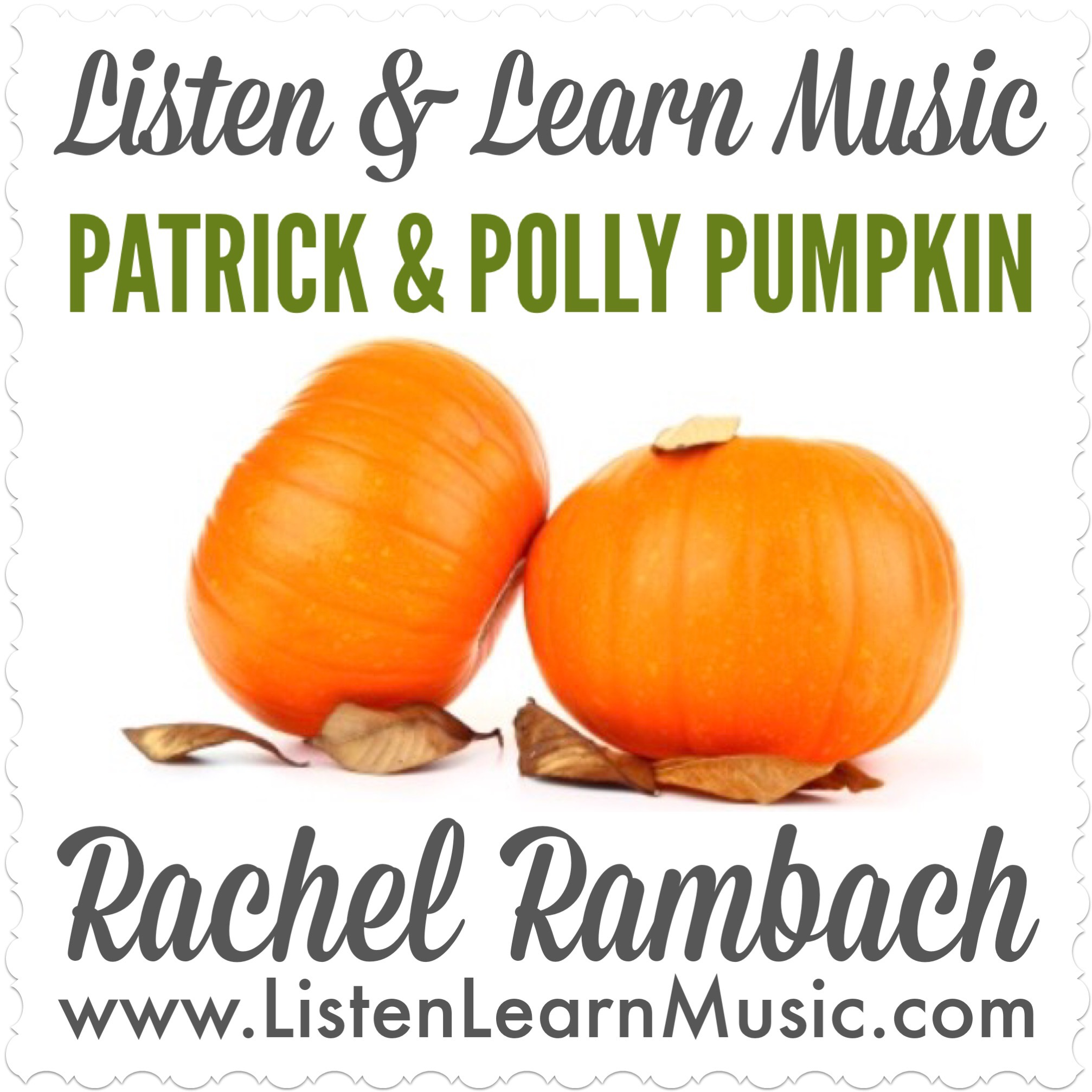 Patrick & Polly Pumpkin Album Cover