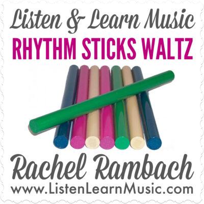 Rhythm Sticks Waltz Album Cover