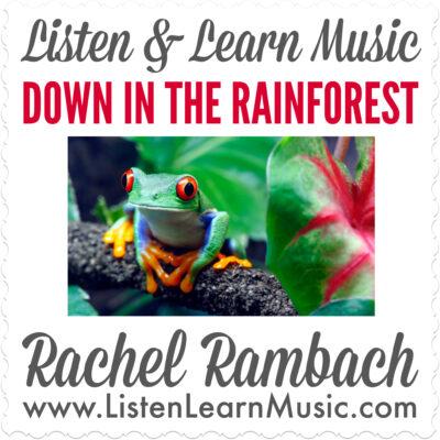 Down in the Rainforest Album Cover