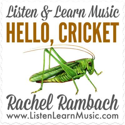 Hello, Cricket Album Cover