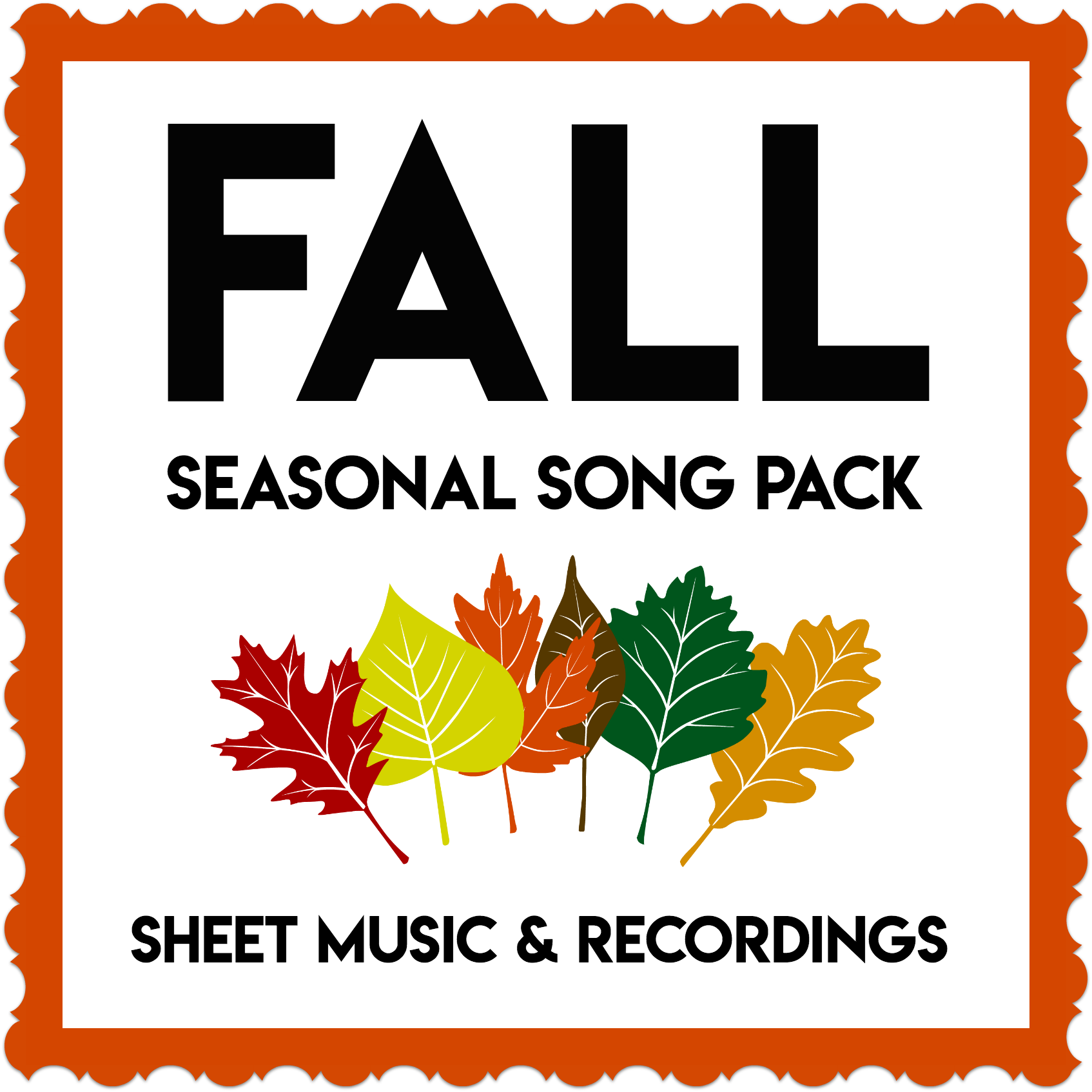 Fall Seasonal Song Pack