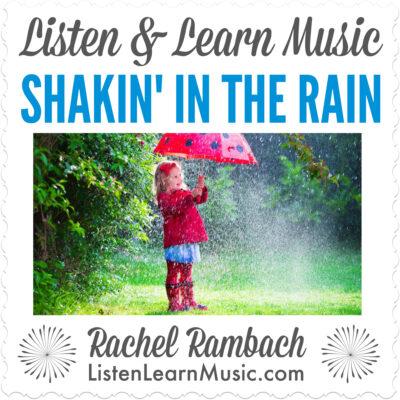 Shakin' In the Rain Album Cover