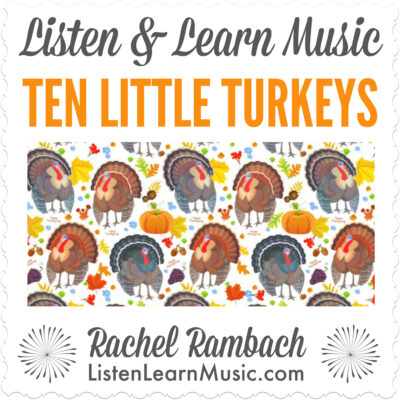 Ten Little Turkeys Album Cover