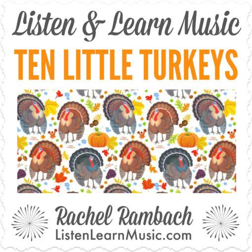 Ten Little Turkeys Album Cover