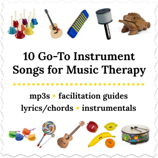 10 Go-To Instrument Songs for Music Therapy