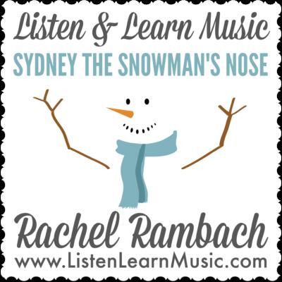 Sydney the Snowman's Nose