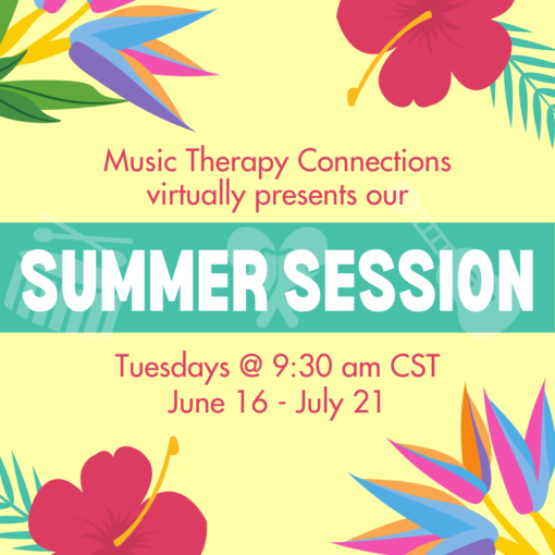 Summer Music Classes at Music Therapy Connections