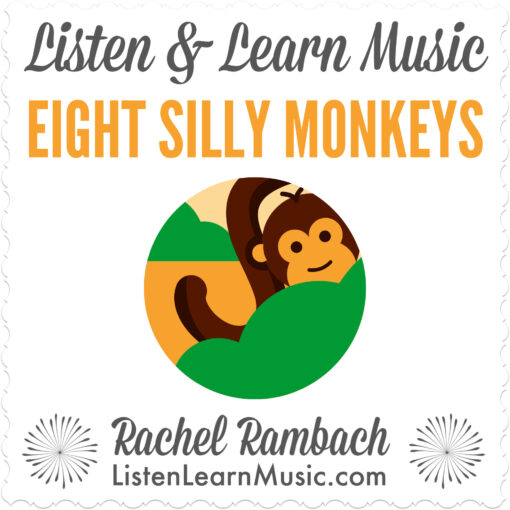 Eight Silly Monkeys | Listen & Learn Music