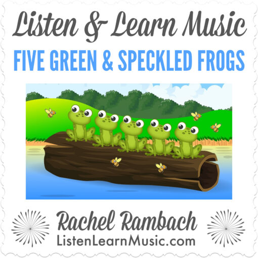 Five Green & Speckled Frogs | Listen & Learn Music
