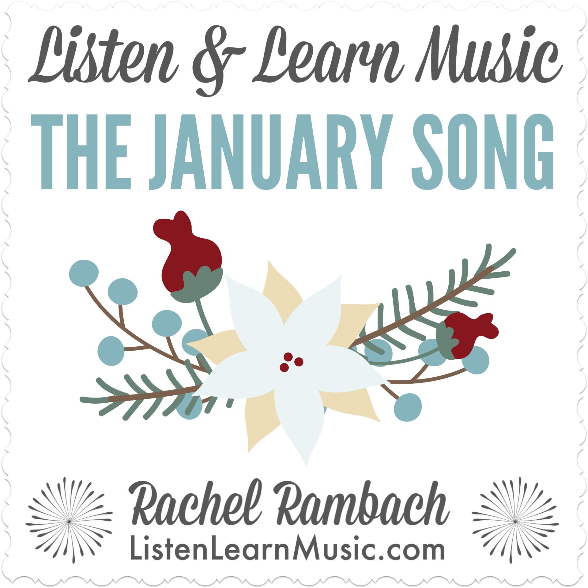 january song listen learn