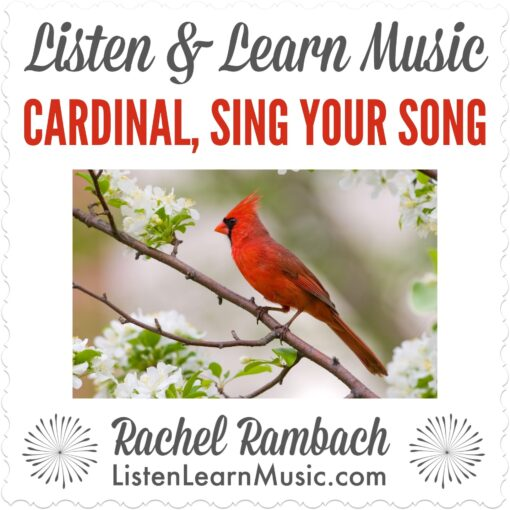 Cardinal, Sing Your Song Album Cover