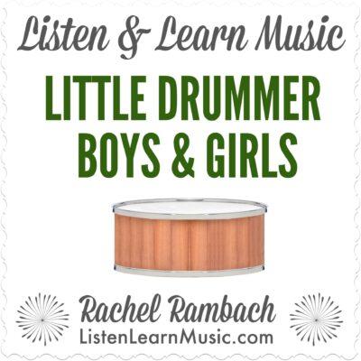 Little Drummer Boys and Girls Album Cover