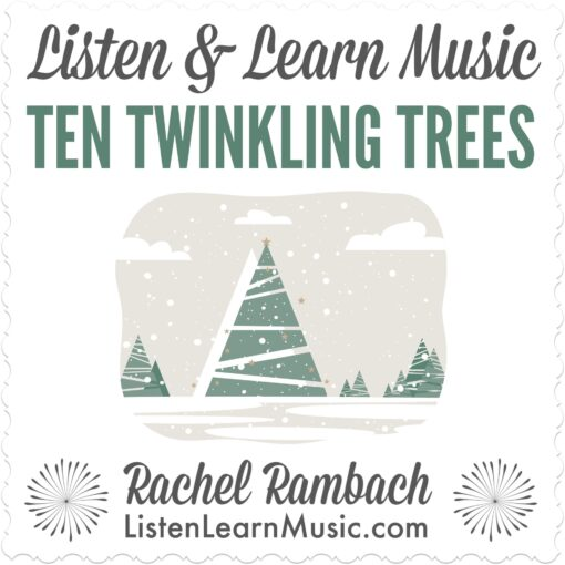 Ten Twinkling Trees Album Cover
