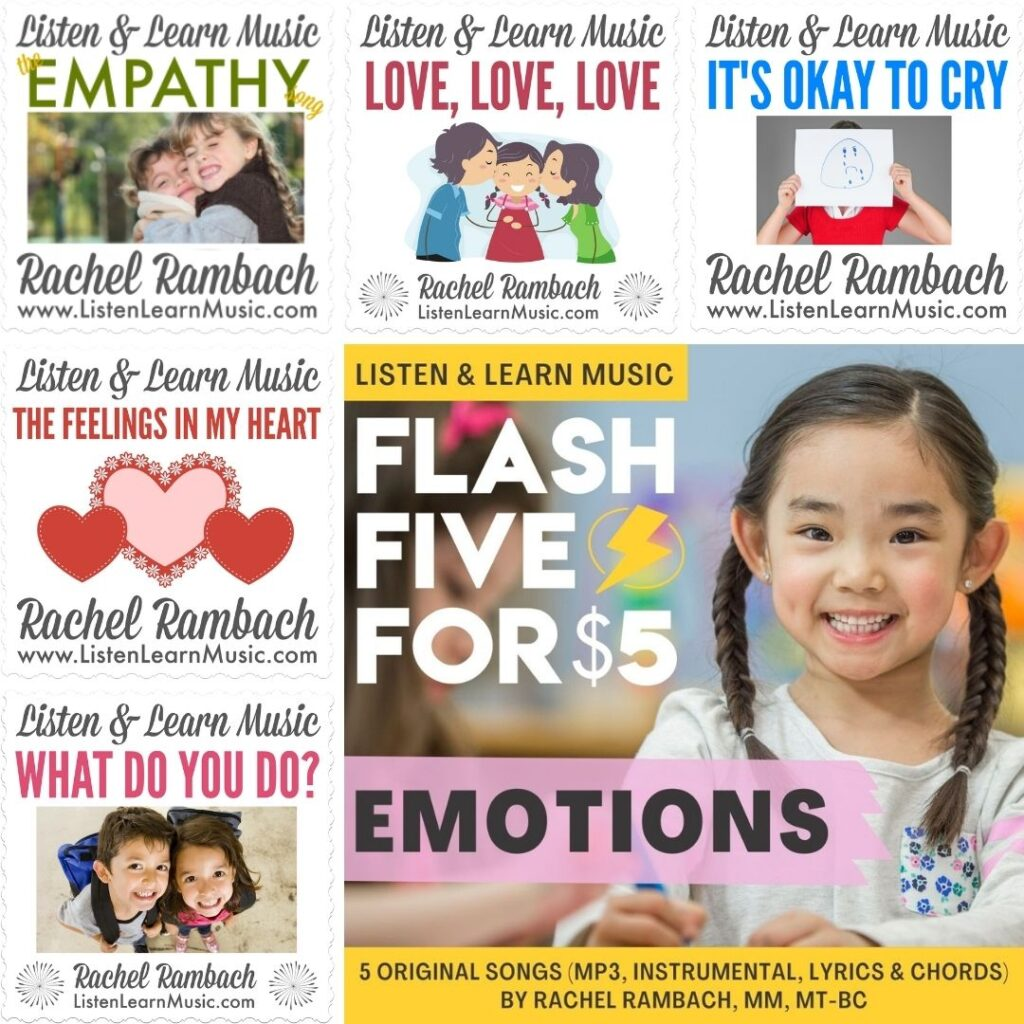 {Flash Five} Emotions | Listen & Learn Music