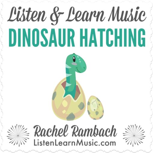 Dinosaur Hatching | Listen & Learn Music