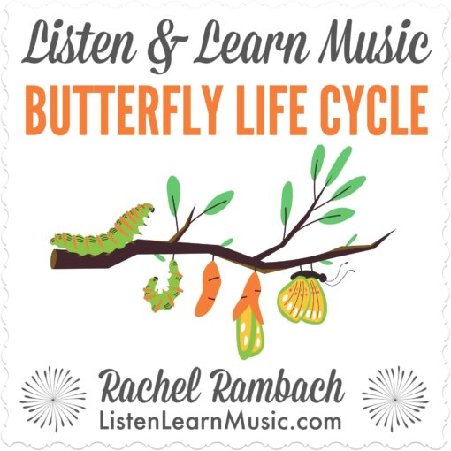 Butterfly Life Cycle | Listen & Learn Music