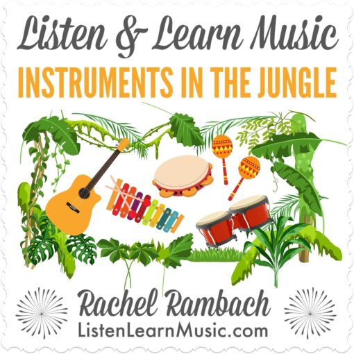Instruments in the Jungle | Listen & Learn Music