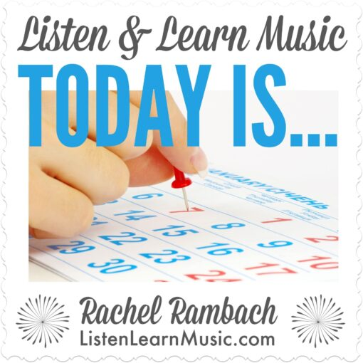 Today Is | Listen & Learn Music