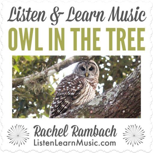 Owl in the Tree | Listen & Learn Music